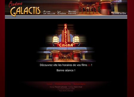 Cinéma Galactis accueil