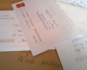stickers enveloppes