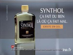 synthol ça fait du bien la ou ça fait mal publicité