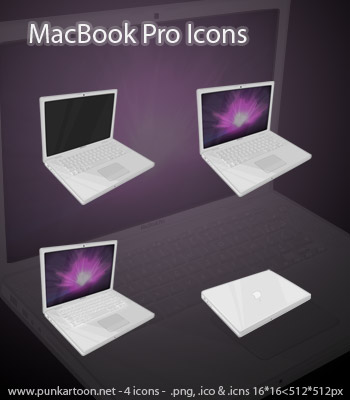 MacBook Pro Icons