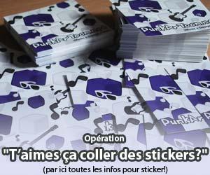opération stickers