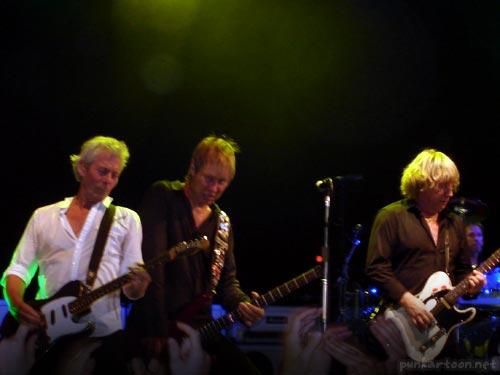 Andy Bown John, Rhino Edwards & Rick Parfitt